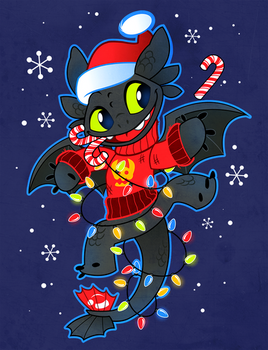Holiday Toothless