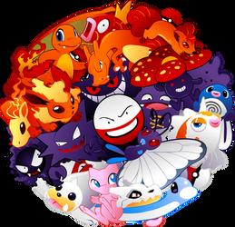 Pokeball Pokemon Design