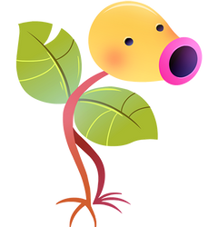 #069 Bellsprout by Kuitsuku