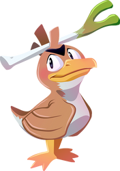 #083 Farfetch'd by Kuitsuku