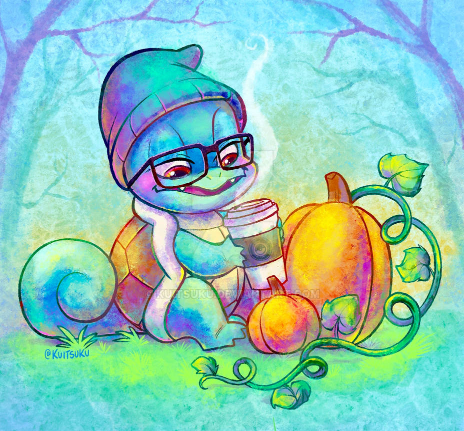 Pumpkin Spice Squirtle