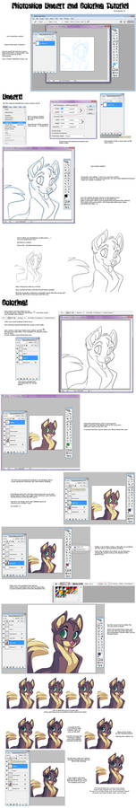 Photoshop Lineart-Coloring Tut