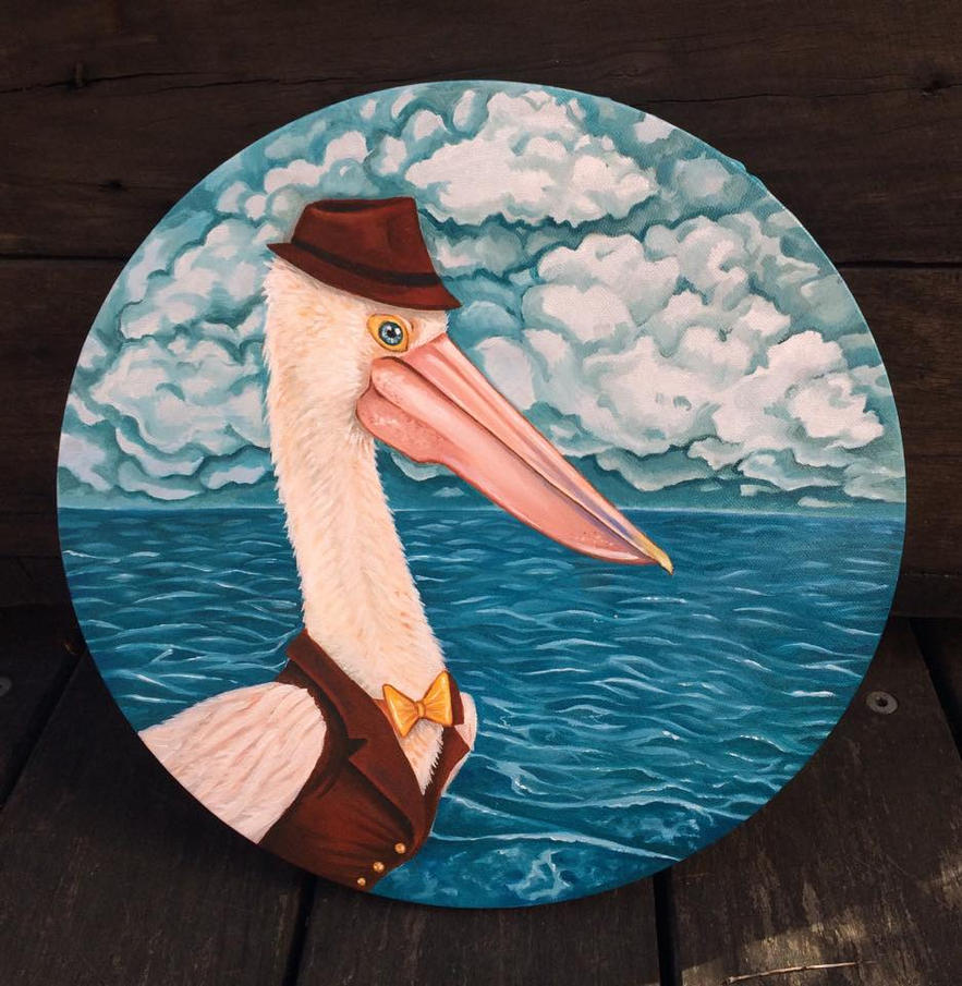 Percival the Pelican by puppeteer-for-kings
