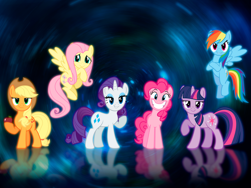 android mane 6 wallpaper - photo #16