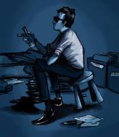 Elwood Blues by GeniusBee