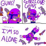 I LOVE GUNS by Shoosh312
