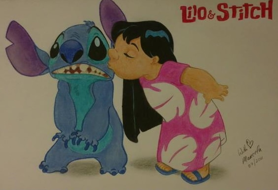 Lilo and Stitch by withlove-marcela