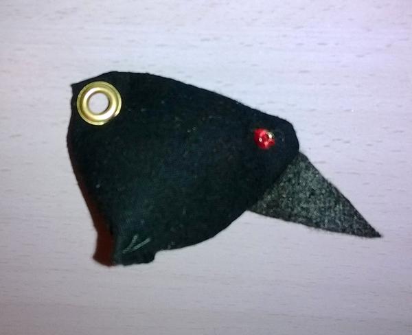 Demonbirdy keychain by Mutany