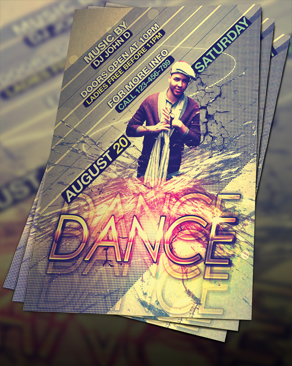 Free Psd Dance Flyer By Flyerstars On Deviantart