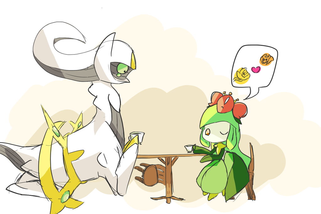 Tea Party by Pazlin