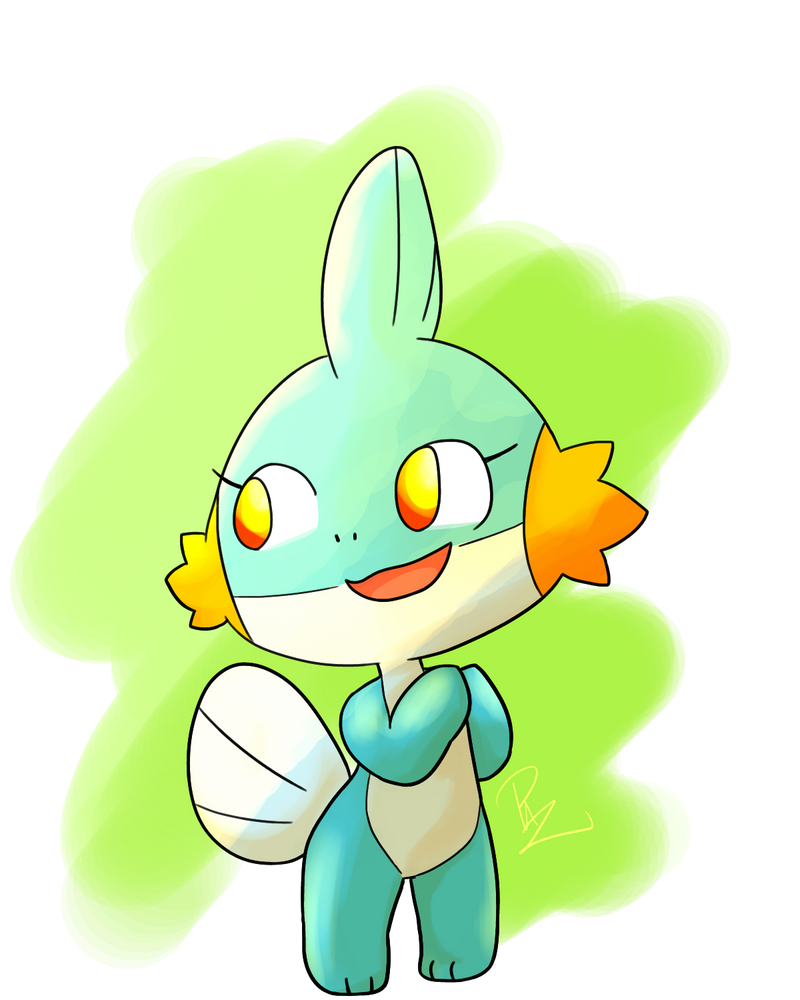 Female Mudkip [Read Disc.] by Pazlin
