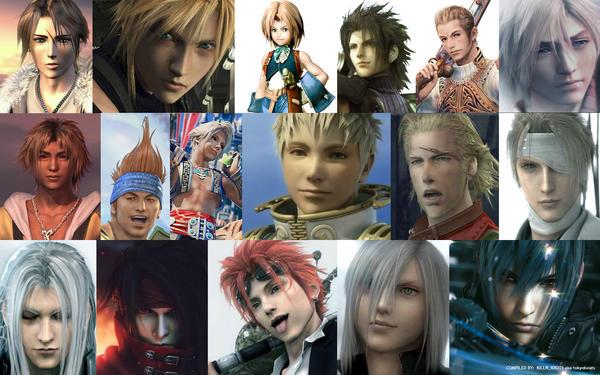 chosen men of FINAL FANTASY by tokyobeats