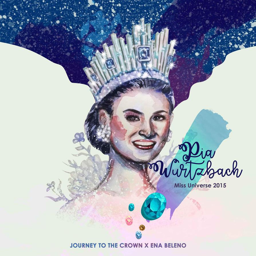 Pia Wurtzbach Miss Universe 2015 by enabeleno