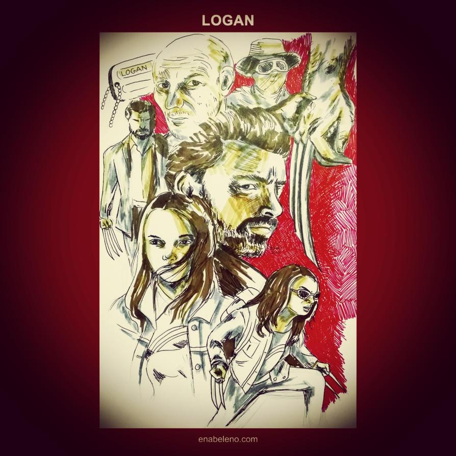 Logan - Goodbye Wolverine by enabeleno
