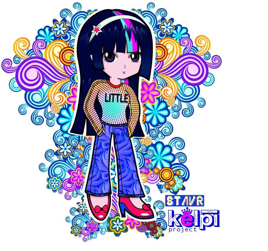 Chibi Kelpi by acestaar01