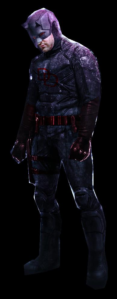 Daredevil Black Suit Transparent