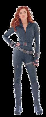 Black Widow Ironman 2 Transparent