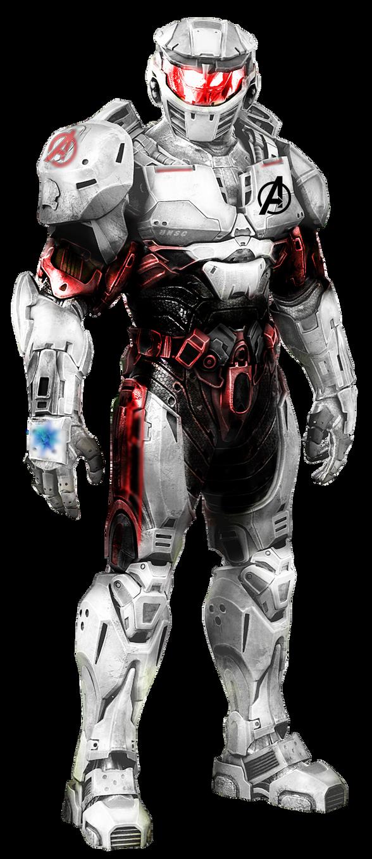 Master Chief Quantum Suit PNG