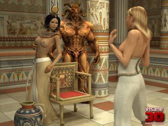 Pharaoh by insane3dx