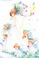 spring bride by kawako198