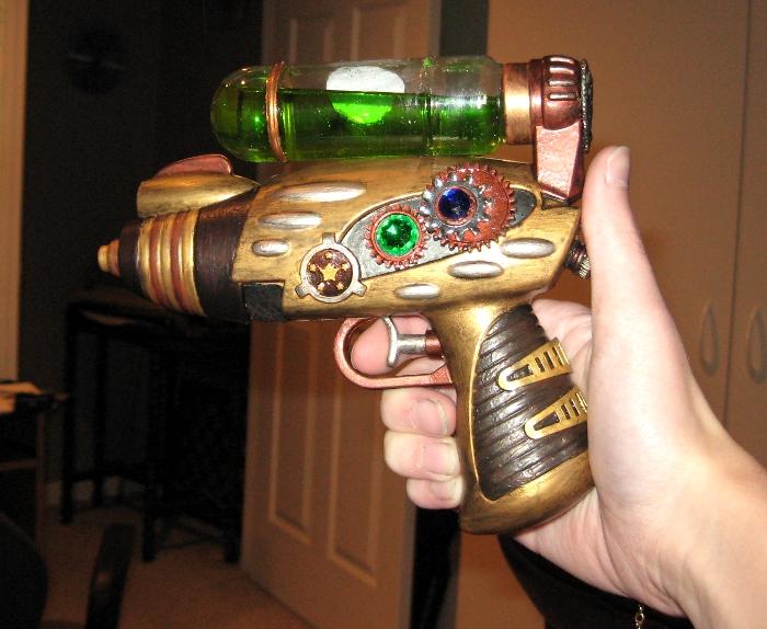 People perceive Steampunk vibrator gun Hotel Porn