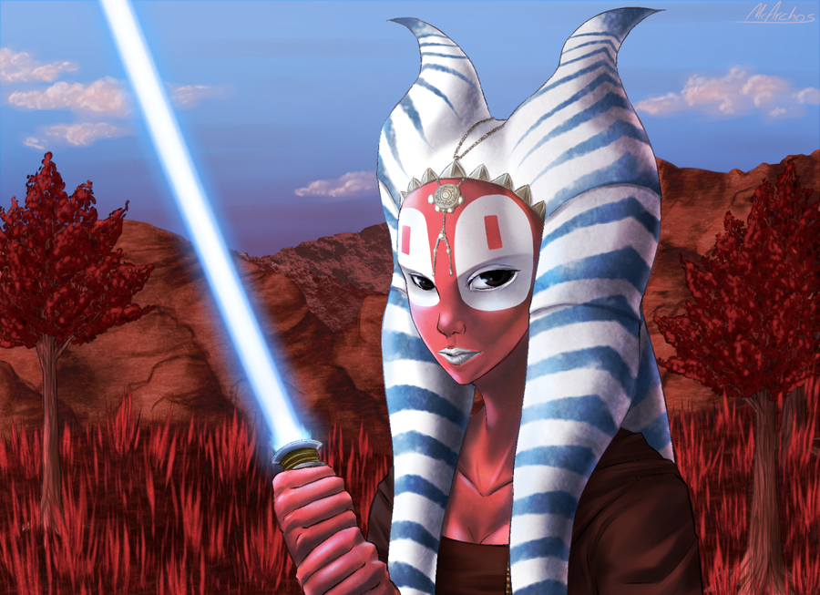 Shaak-Ti by Dracowhip on DeviantArt