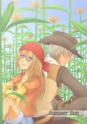 HarvestMoon: Summer Sun Cover by annako