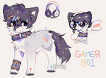 Gamer boi ota (adopt - closed)