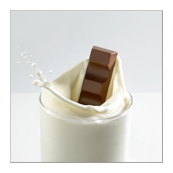 Milk and chocolate by macro-art