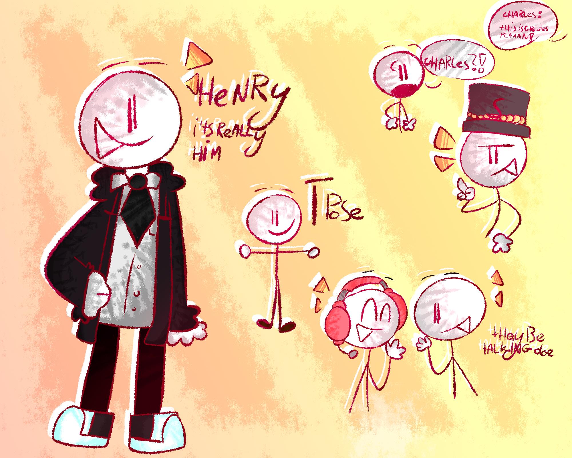 HENRY doodles moment
