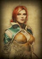 100 sorceresses Triss 8 by aschmit