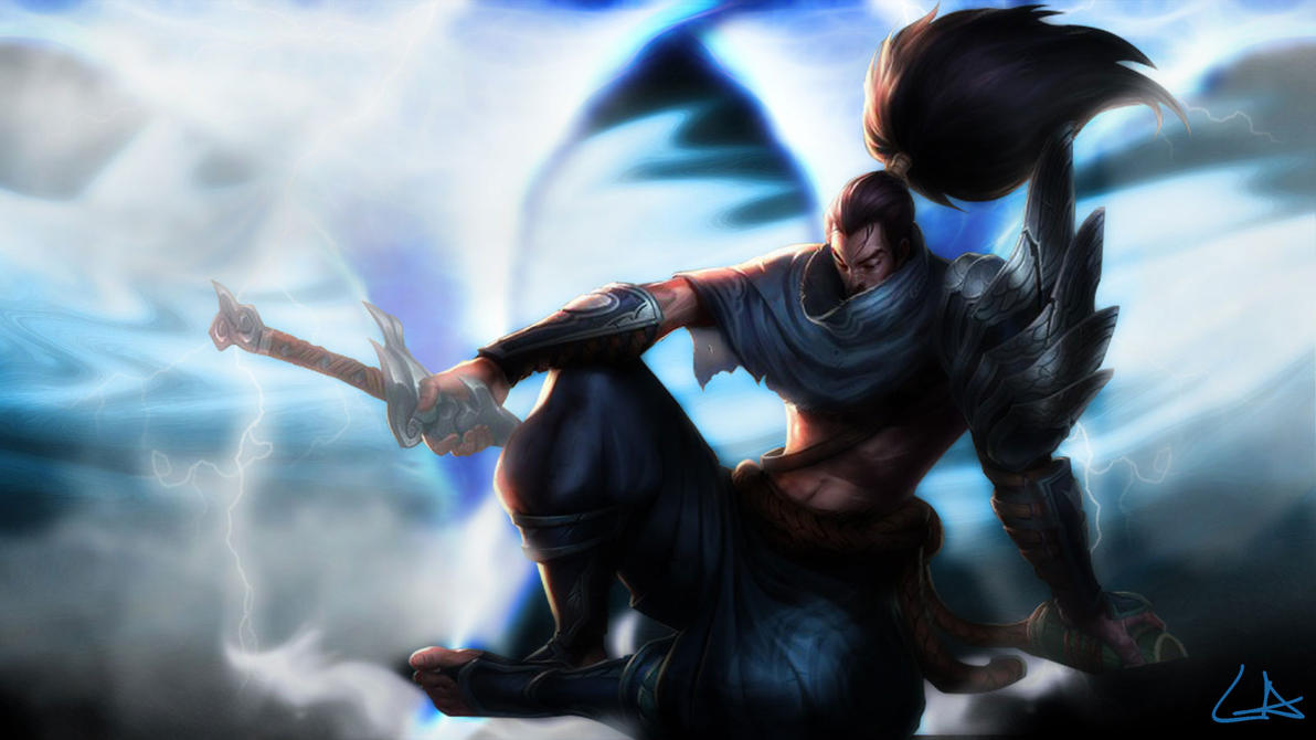 Yasuo League Of Legends By ZoinhoGamer