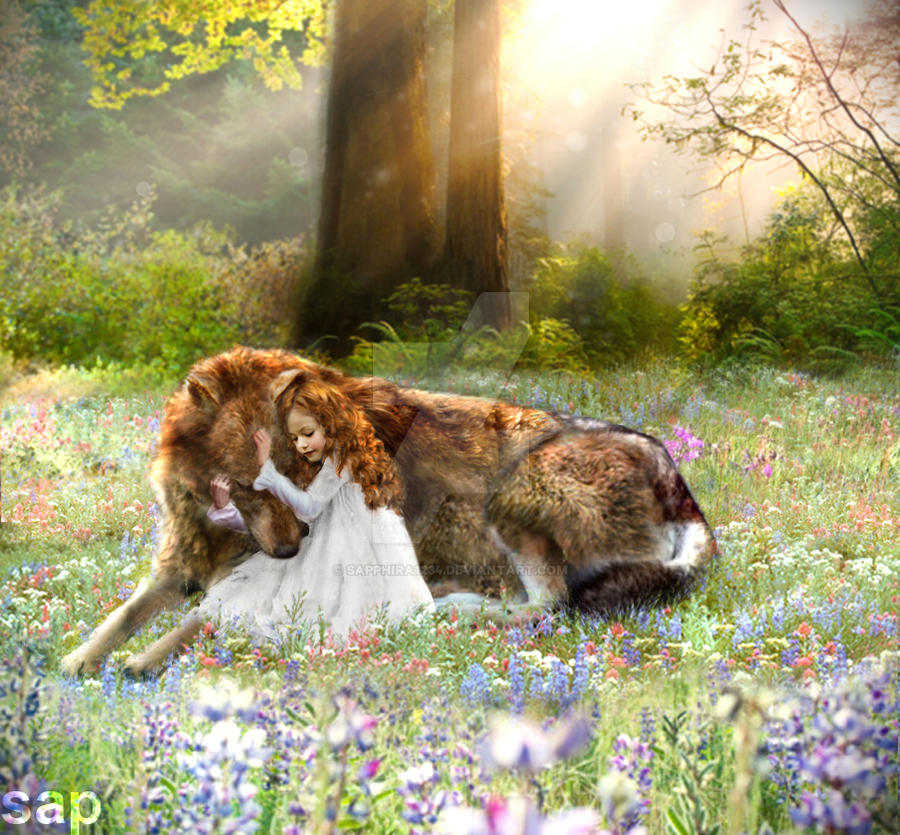 renesmee and wolf jacob by sapphira1234 on DeviantArt
