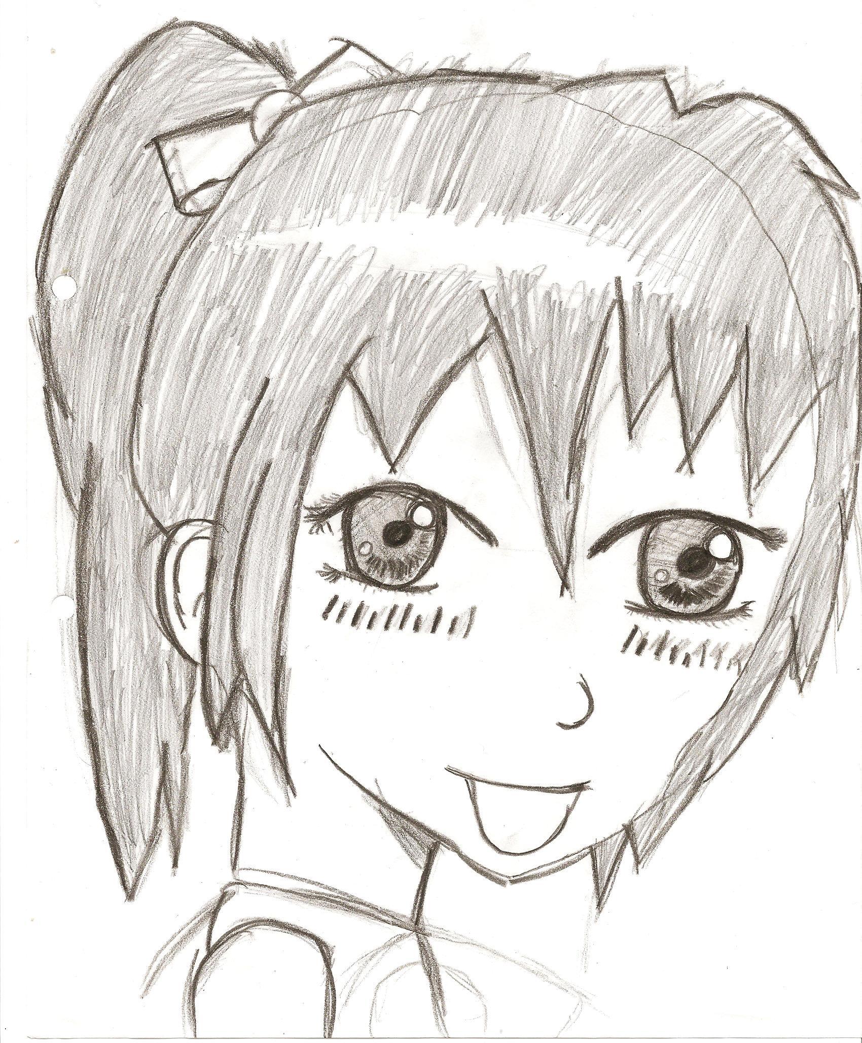 Karen, Anime Sketch By Puppymad On DeviantArt