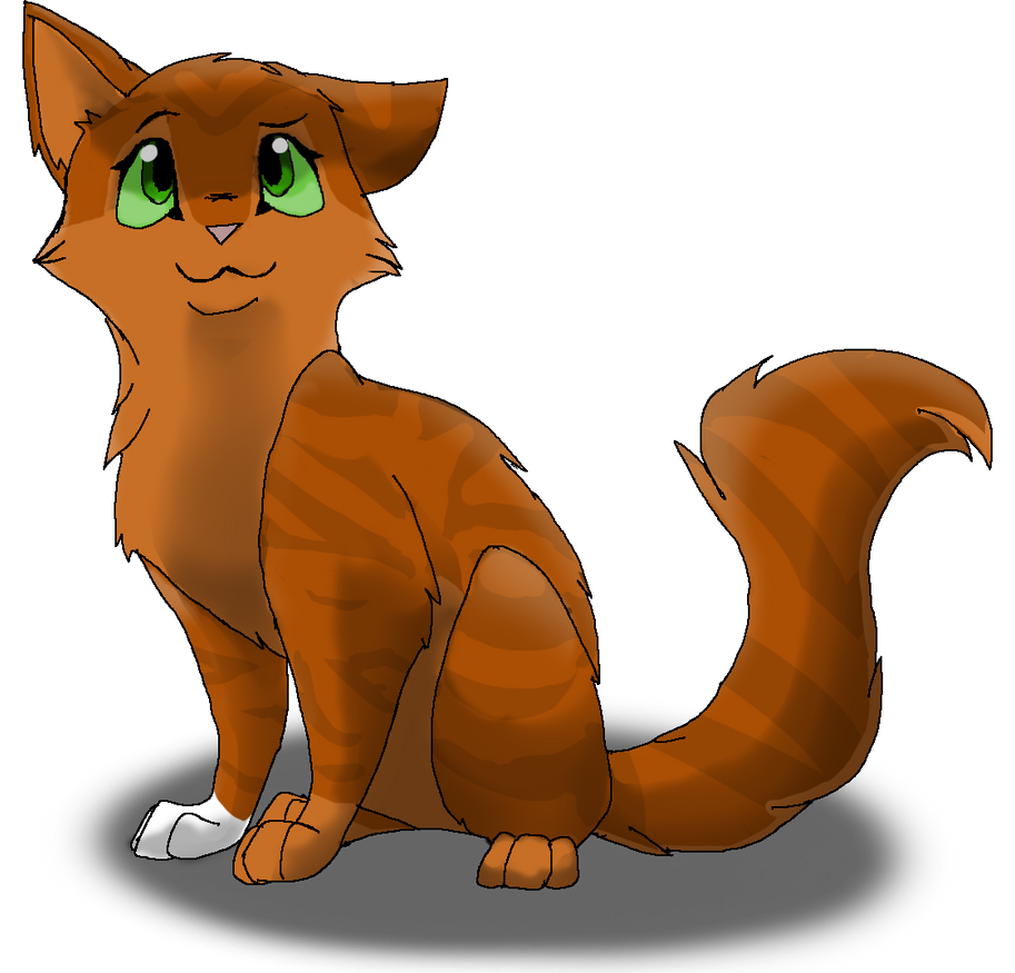 Warrior Cat Realistic Drawing