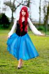 Ariel the little mermaid - blue dress