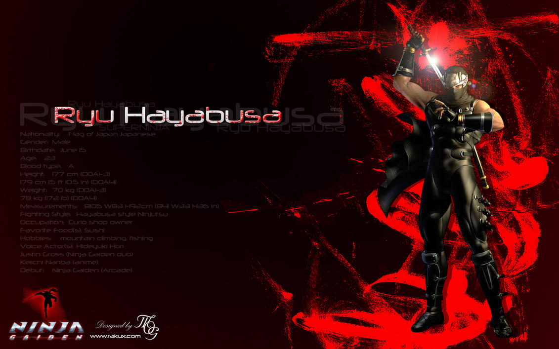 Ryu Hayabusa By RakuX On DeviantArt