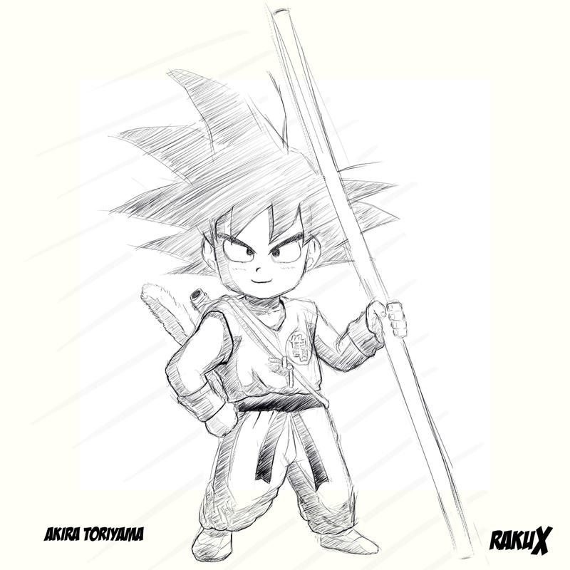 Young Goku by RakuX
