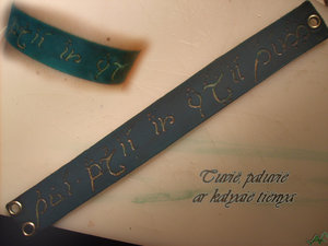 Elven bracelet by Gato-aefe by LeatherArtisans