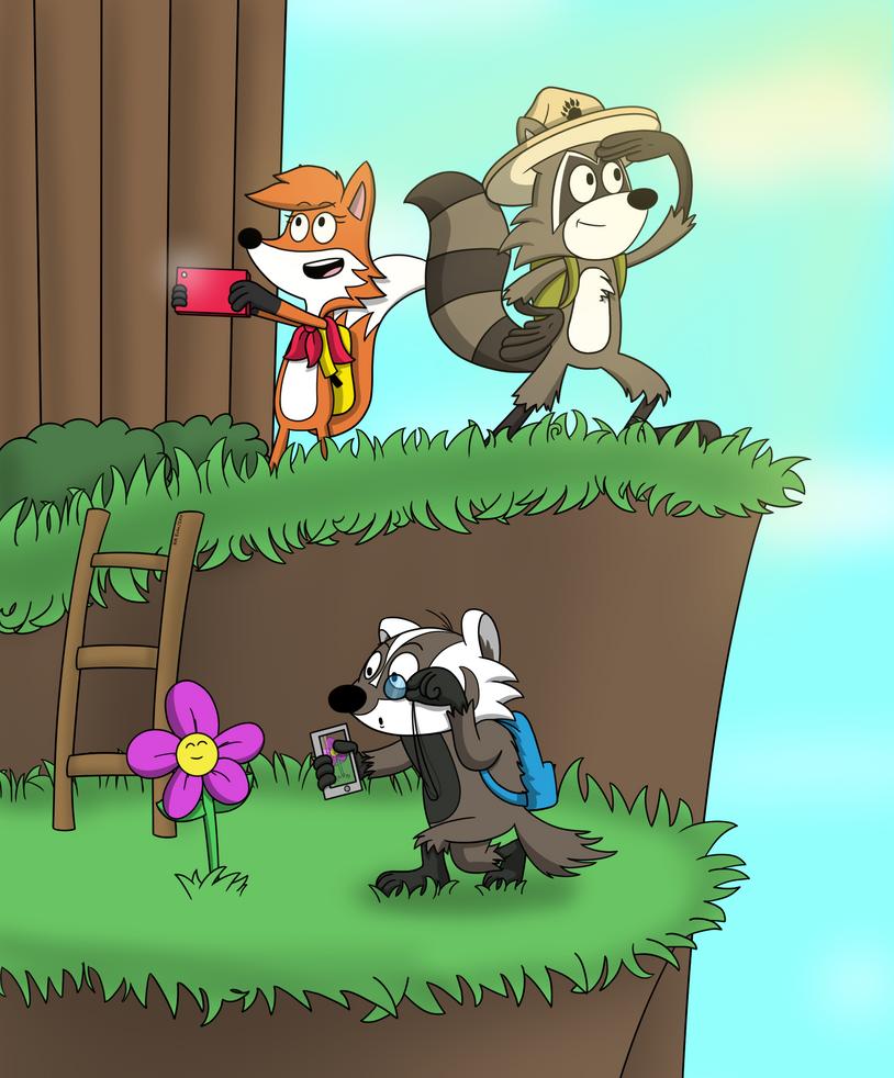 Ranger Rick Adventures by NM-Kuhn