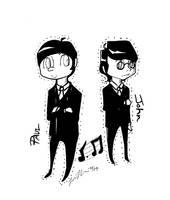 Paul and John by YoukoKurama25