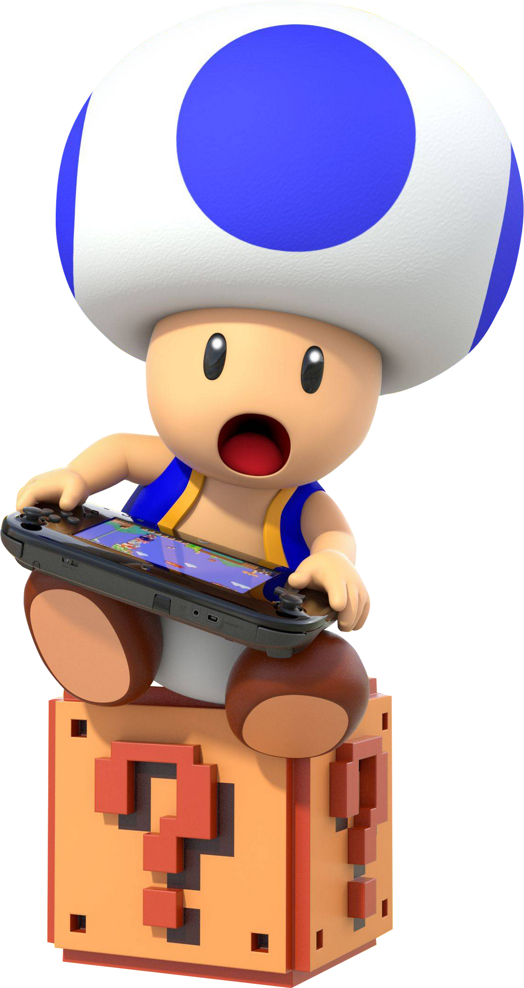 Mario Characters Blue Toad
