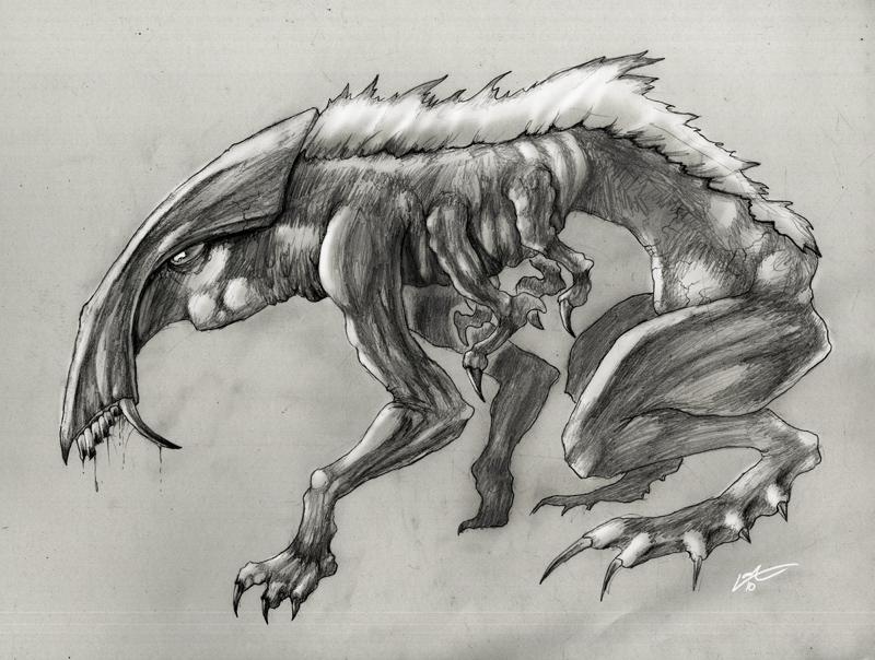 Alien Concept.1 by Lanasy