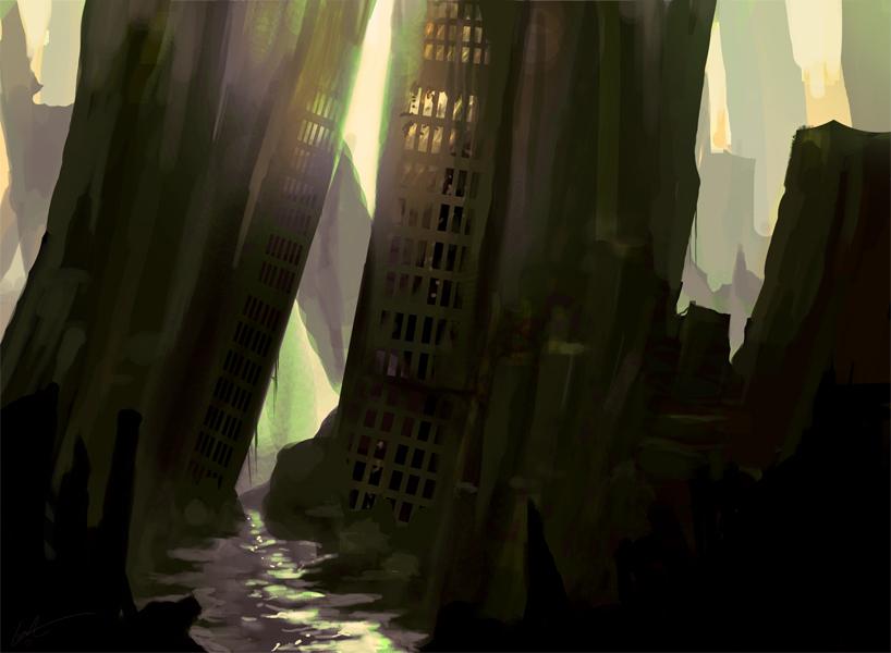 Agonized City by Lansay