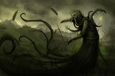 Plague Weaver by Lanasy