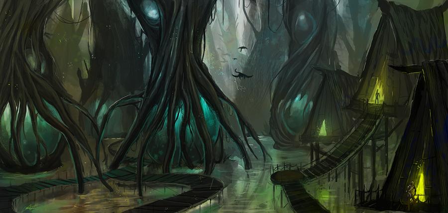 Swamp Sowerbii by Lansay