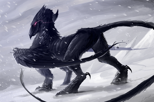 Hell's Griffin by Lanasy
