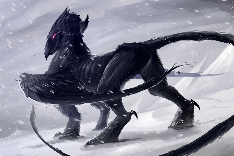 Hell's Griffin by Lansay