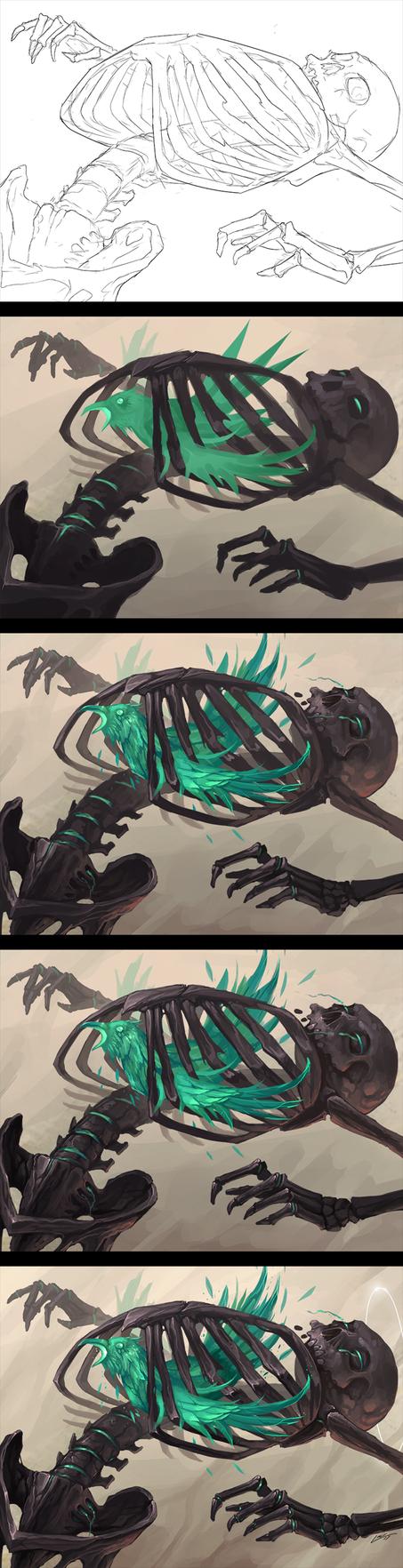 Bird Cage - Progress by Lanasy