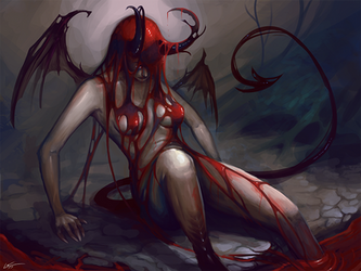 Birth of a Succubus 2 by Lanasy